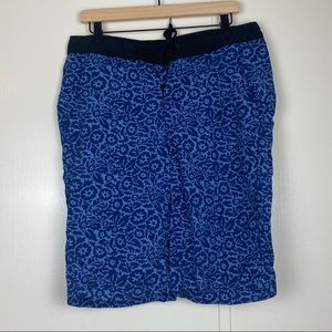 KAVU Men's Blue Swim Board shorts